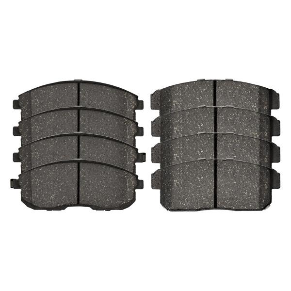 Front and Rear Ceramic Brake Pad Bundle - Part # SCD900PR