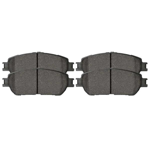 Front Ceramic Brake Pad Set - Part # SCD906