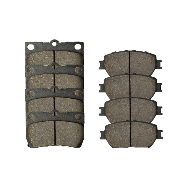 Front and Rear Ceramic Brake Pad Bundle - Part # SCD908-1113