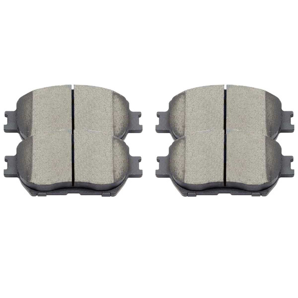 Front Ceramic Brake Pad Set - Part # SCD908
