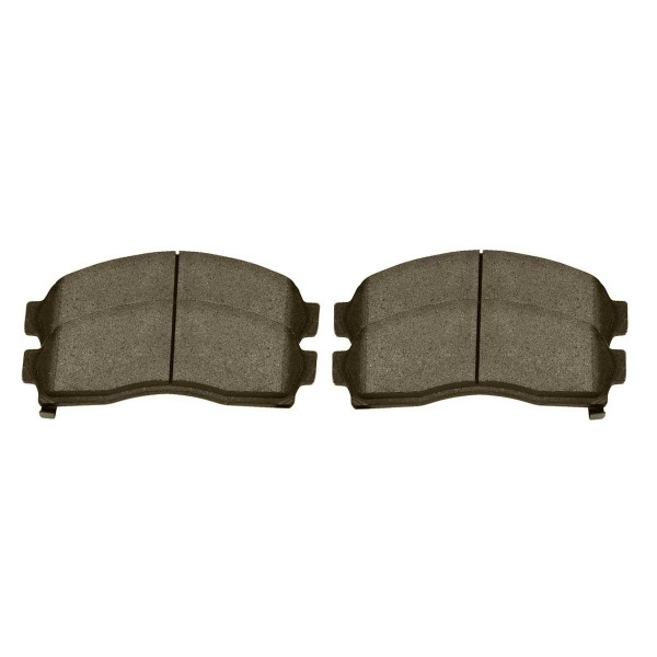 Front Ceramic Brake Pad Set - Part # SCD913