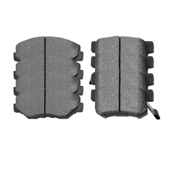 Front and Rear Ceramic Brake Pad Bundle - Part # SCD914-1086