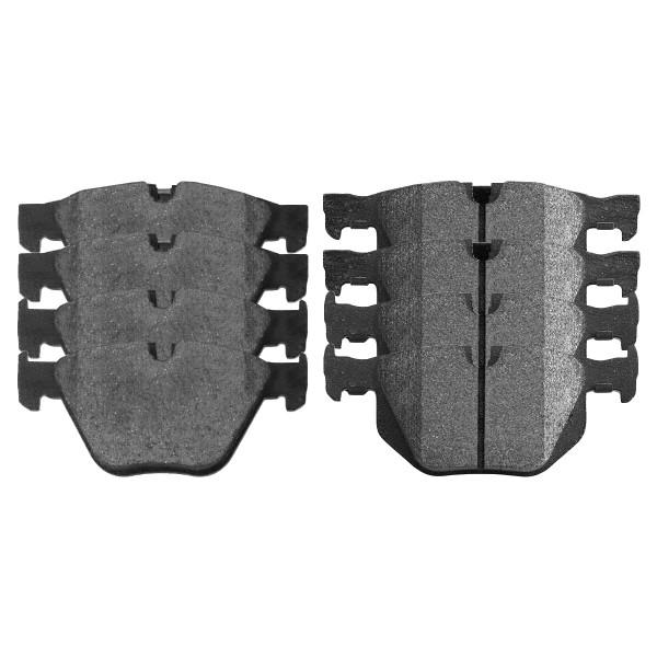 Front and Rear Ceramic Brake Pad Bundle - Part # SCD918-683
