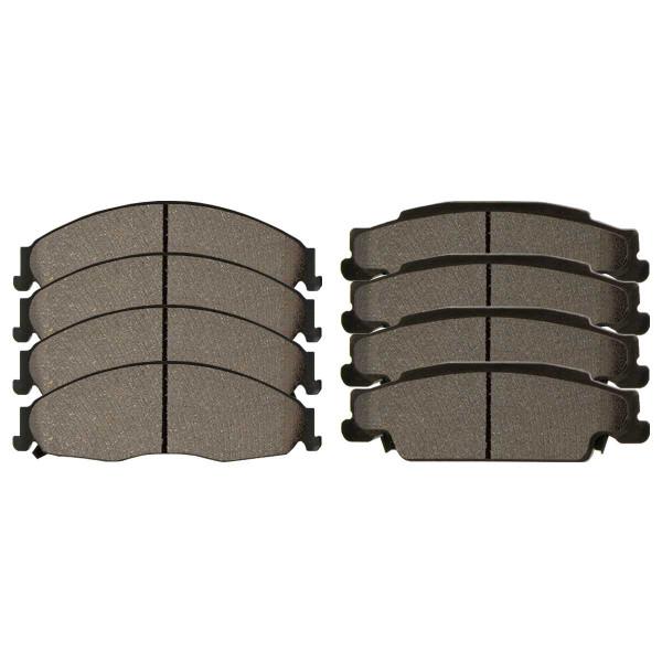 Front and Rear Ceramic Brake Pad Bundle - Part # SCD921-922