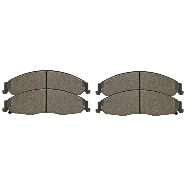 Front Ceramic Brake Pad Set - Part # SCD921
