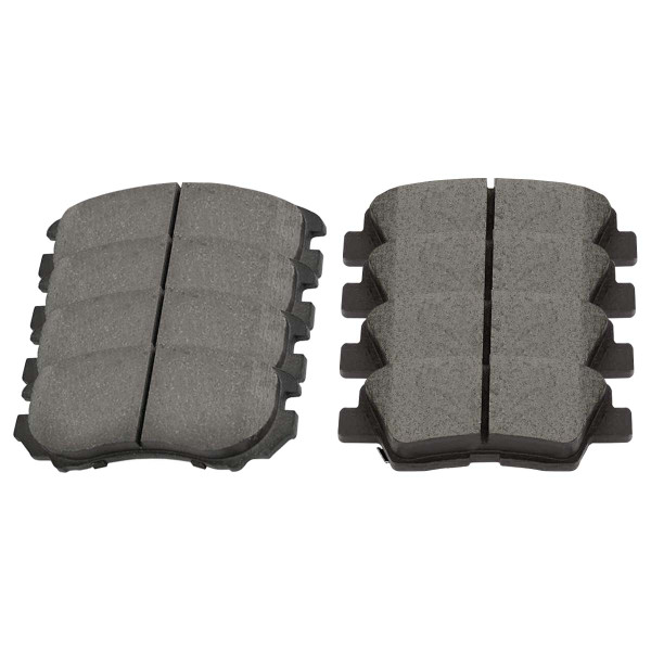 Front and Rear Ceramic Brake Pad Bundle 4 Wheel Disc - Part # SCD924-1313
