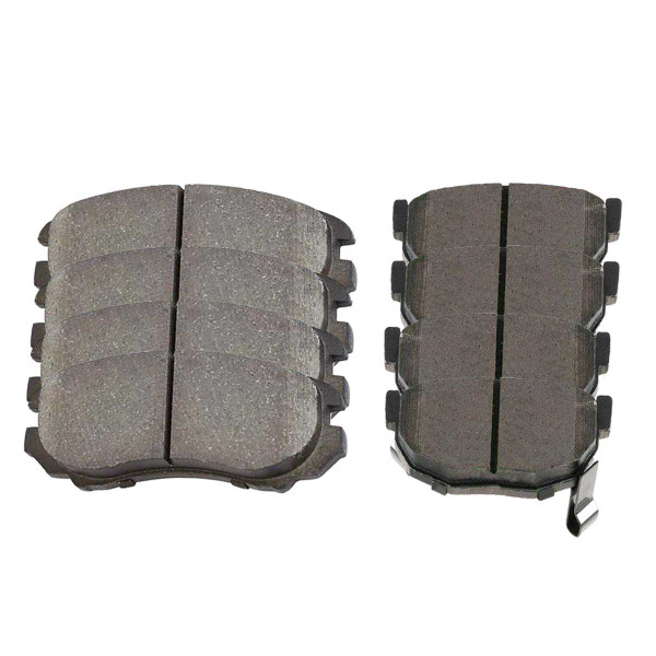 Front and Rear Ceramic Brake Pad Bundle - Part # SCD924-323A
