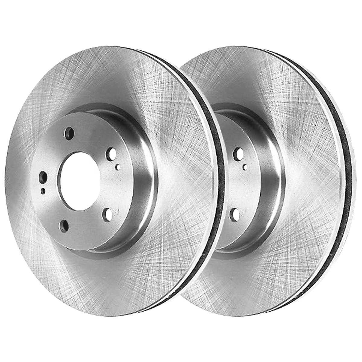 AutoShack SCD9245151 Front and Rear Brake Rotors and Ceramic Pads
