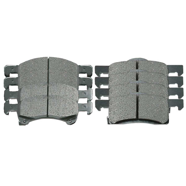 Front and Rear Ceramic Brake Pad Bundle - Part # SCD934-935