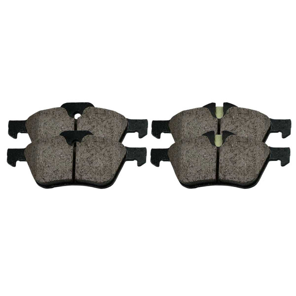 Front Ceramic Brake Pad Set - Part # SCD939