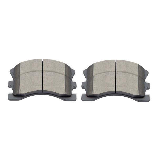 Front Ceramic Brake Pad Set - Part # SCD945