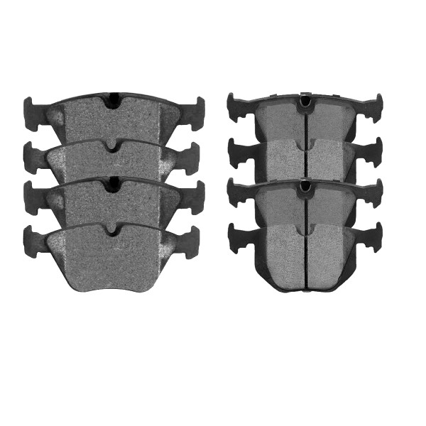 Front and Rear Ceramic Brake Pad Bundle - Part # SCD946-683