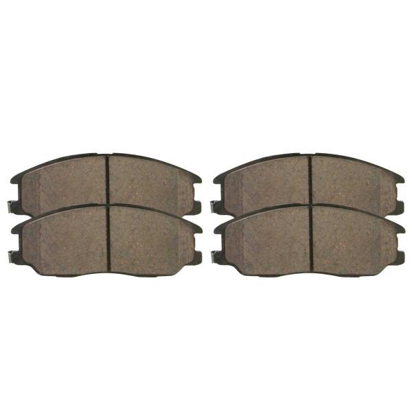 Front Ceramic Brake Pad Set - Part # SCD955