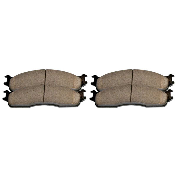 Front and Rear Ceramic Brake Pad Bundle - Part # SCD965-702A