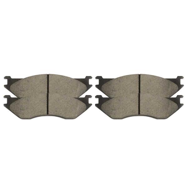 Front Ceramic Brake Pad Set - Part # SCD966