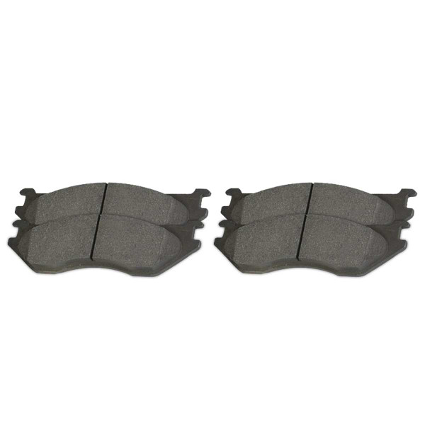Rear Ceramic Brake Pad Set 4 Wheel Disc - Part # SCD967
