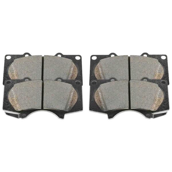 Front Ceramic Brake Pad Set - Part # SCD976