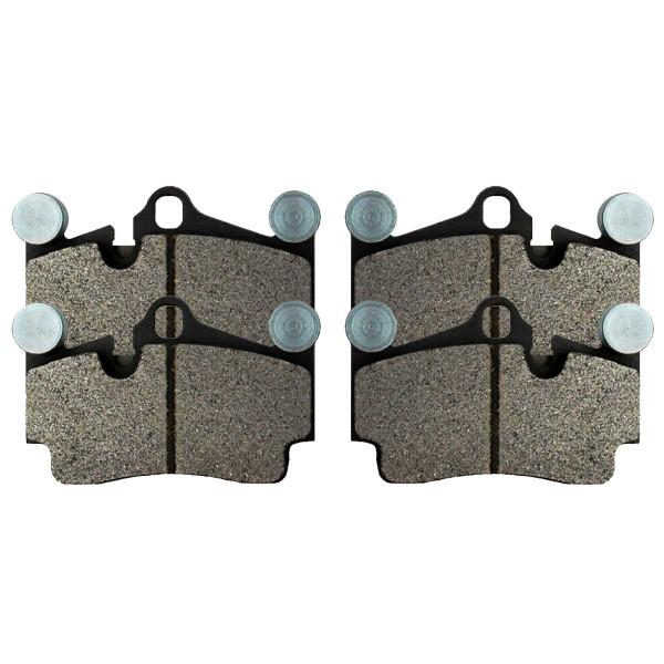 Rear Ceramic Brake Pad Set - Part # SCD978