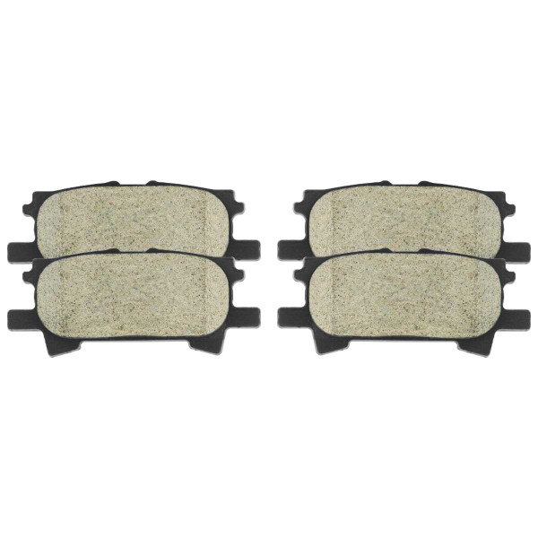 Rear Ceramic Brake Pad Set - Part # SCD996
