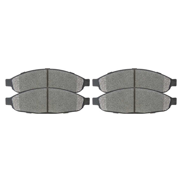 Front Ceramic Brake Pad Set - Part # SCD997