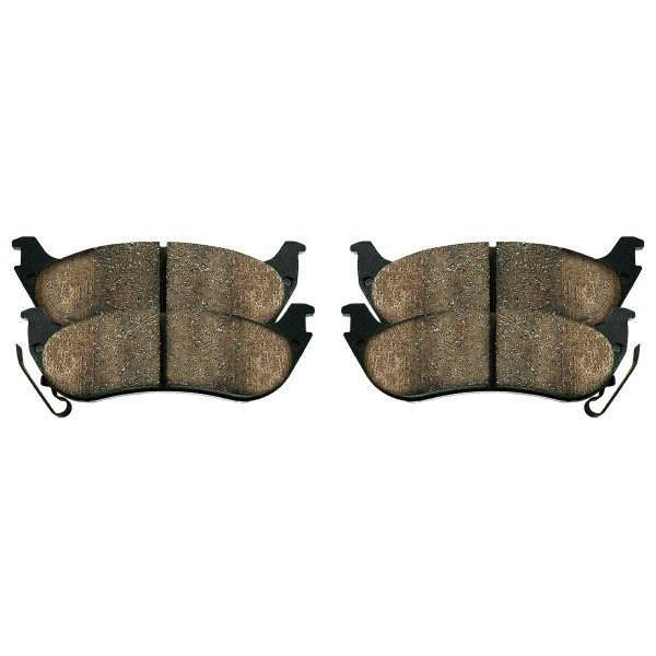 Rear Ceramic Brake Pad Set - Part # SCD998