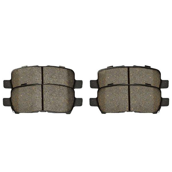 Rear Ceramic Brake Pad Set - Part # SCD999