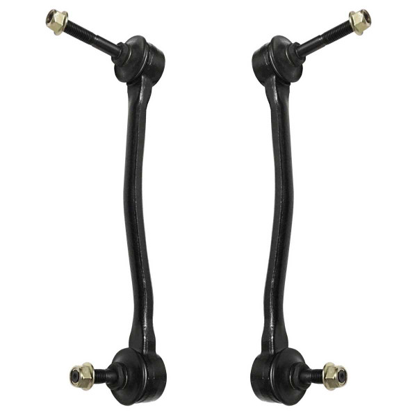 Front Sway Bar Link Pair 2 Pieces Fits Driver and Passenger side 351.5mm Overall Length - Part # SLK2112PR