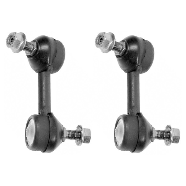 Front Sway Bar Link Pair 2 Pieces Fits Driver and Passenger side - Part # SLK2271PR