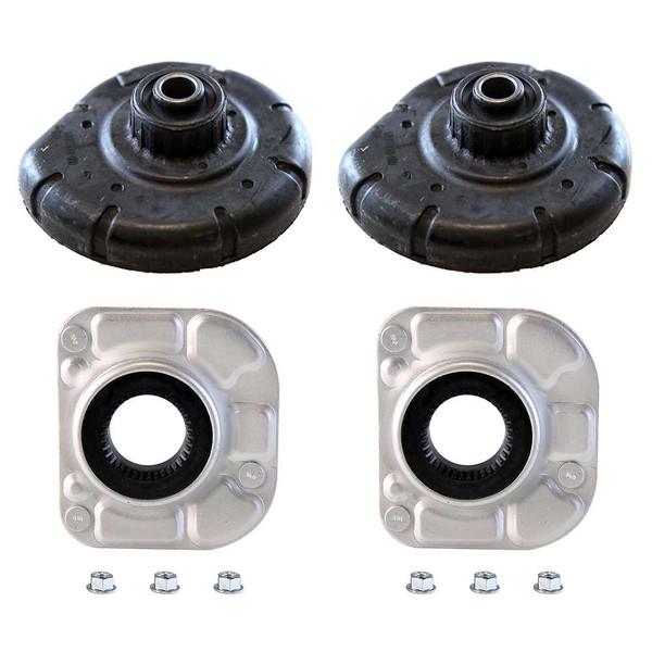 2 Front Strut Mounts 2 Coil Spring Seats - Part # SM4905-KM9710
