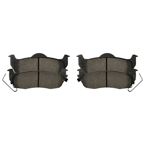 Rear Semi Metallic Brake Pad Set - Part # SMK1041