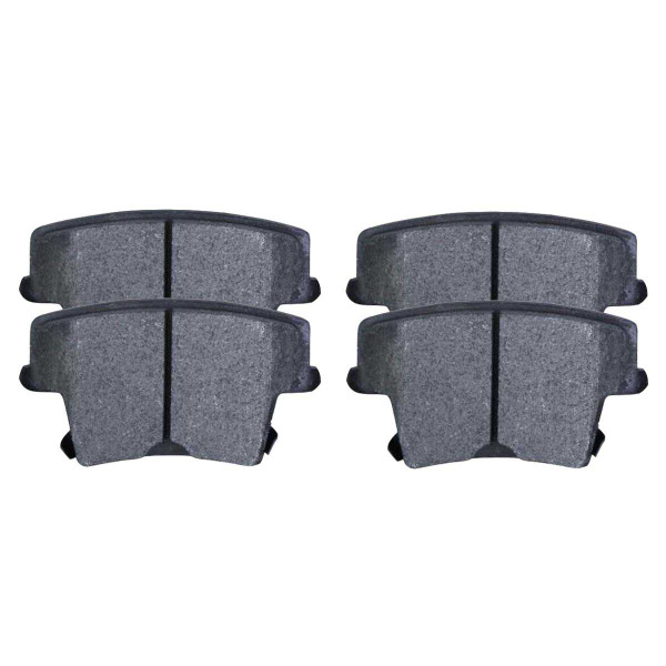 Rear Semi Metallic Brake Pad Set - Part # SMK1057