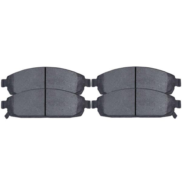 Semi Metallic Brake Pads - Part # SMK1080