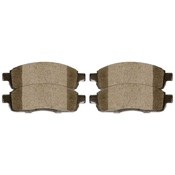Front and Rear Semi Metallic Brake Pad Bundle - Part # SMK1083-1012