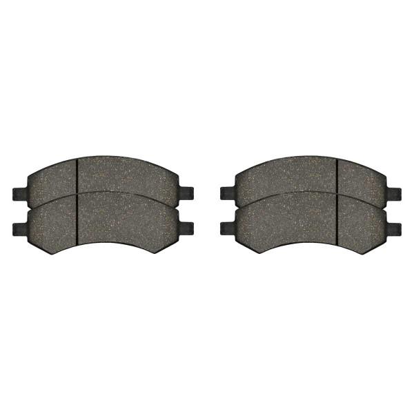 Front Semi Metallic Brake Pad Set - Part # SMK1084