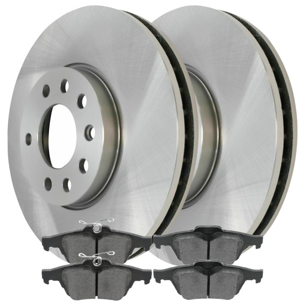 [Rear Set] Rotors & Metallic Pads - Part # SMK1095-R44268