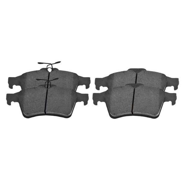 Rear Semi Metallic Brake Pad Set 4 Wheel Disc - Part # SMK1095