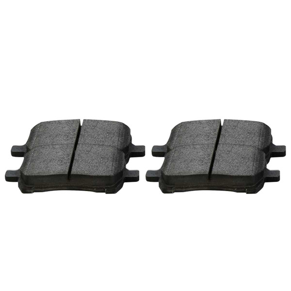 Front Semi Metallic Brake Pad Set - Part # SMK1160