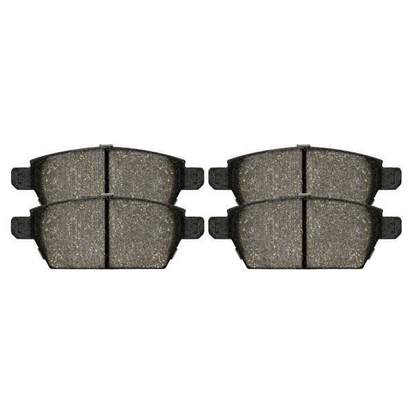 Rear Semi Metallic Brake Pad Set - Part # SMK1161