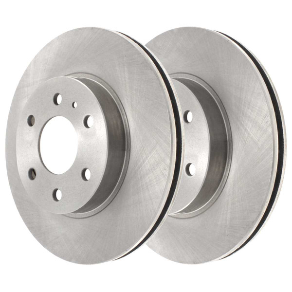Front Semi Metallic Brake Pad and Rotor Bundle - Part # SMK1169-R65152