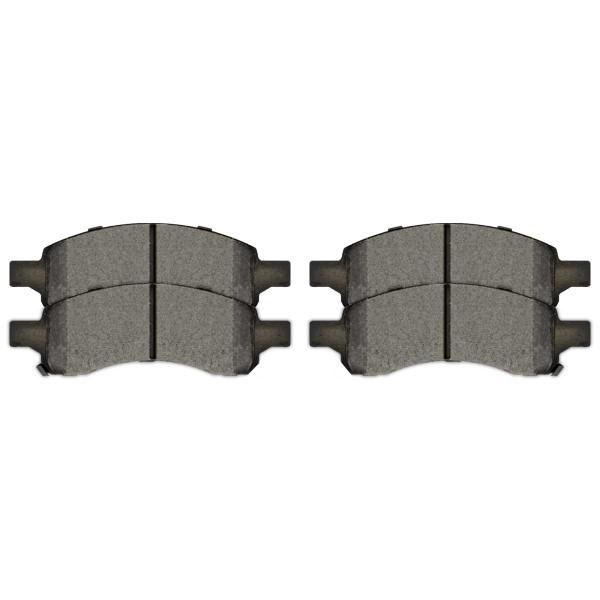 Front Semi Metallic Brake Pad Set - Part # SMK1169