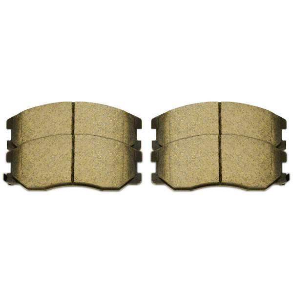 Semi Metallic Brake Pads - Part # SMK1264