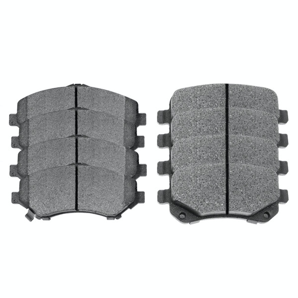 Front and Rear Semi Metallic Brake Pad Bundle - Part # SMK1273-1326