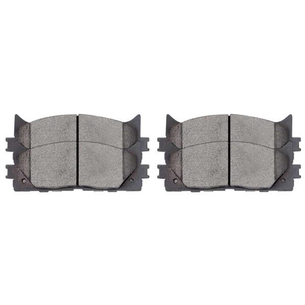 Front Semi Metallic Brake Pad Set - Part # SMK1293