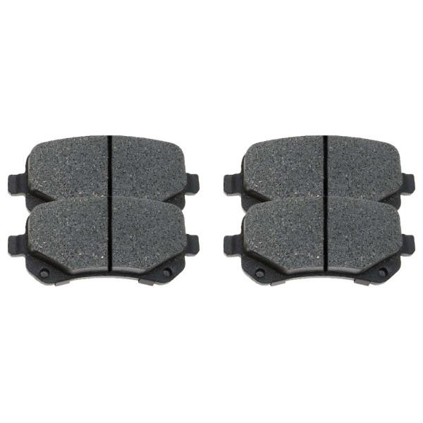 Rear Semi Metallic Brake Pad Set - Part # SMK1326