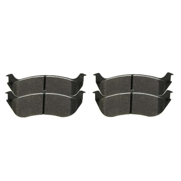 Front Semi Metallic Brake Pad Set - Part # SMK477