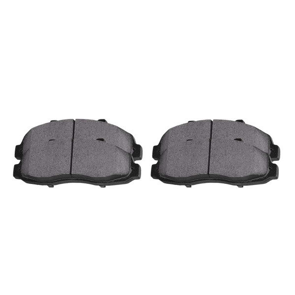 Front Semi Metallic Brake Pad Set - Part # SMK652