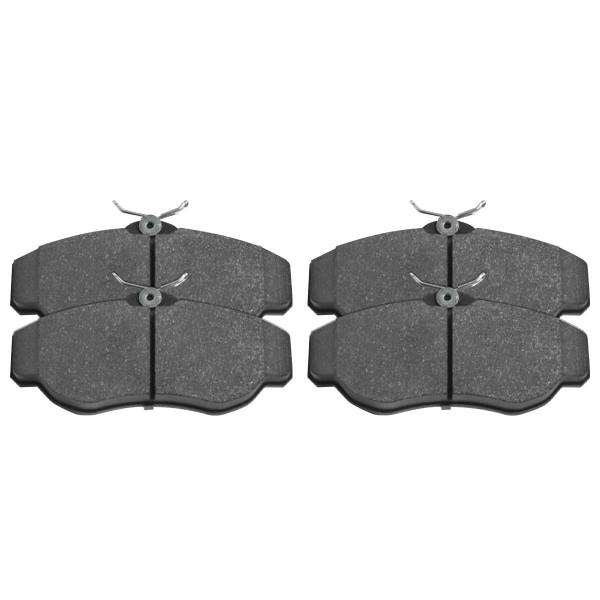 Front Semi Metallic Brake Pad Set - Part # SMK676