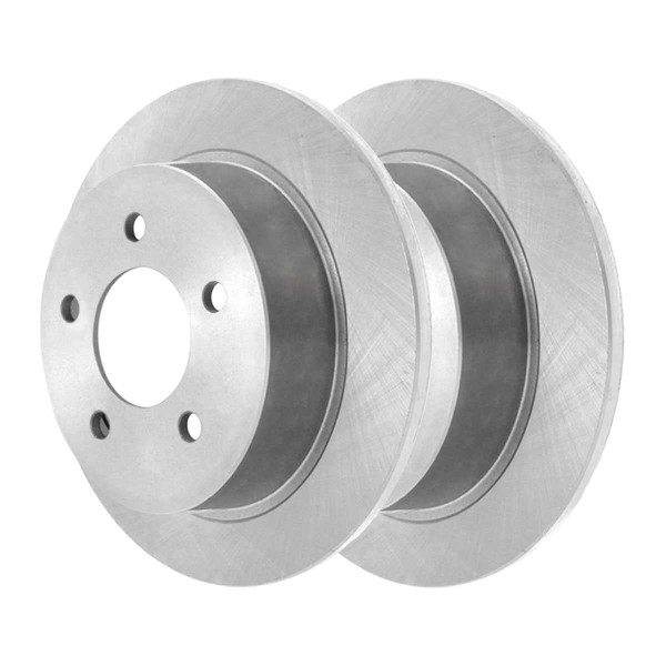 Front and Rear Semi Metallic Brake Pad and Rotor Bundle - Part # SMK69865041