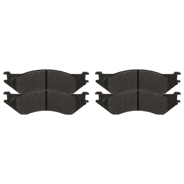 Front Semi Metallic Brake Pad Set - Part # SMK702