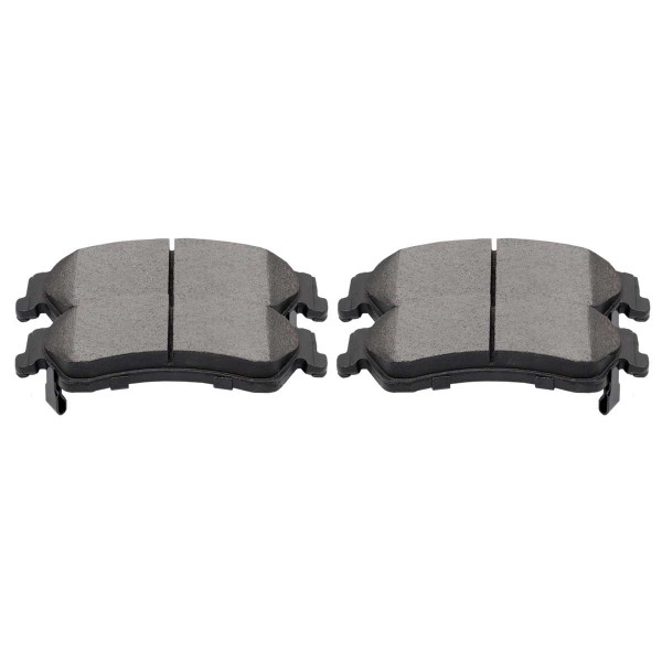 Rear Semi Metallic Brake Pad Set 4 Wheel Disc - Part # SMK729